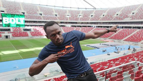 Usain Bolt está convencido de que puede mejorar sus récords