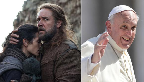 """Russell Crowe invita al Papa Francisco a ver """"Noé"""""""