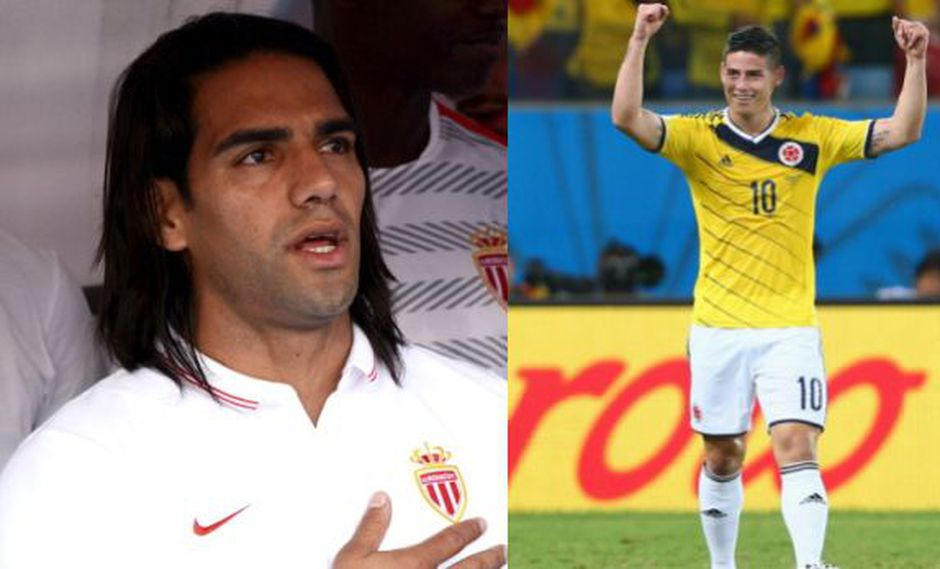 "Radamel Falcao: ""James sigue perteneciendo al Mónaco"""