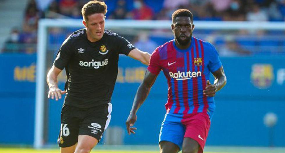 Barcelona - Nastic; resumen, goles y resultado del amistoso Barca TV    España ES   DEPORTE-TOTAL   EL COMERCIO PERÚ