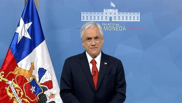 Sebastián Piñera anunció que suscribió nuevos acuerdos para dotar a Chile de millones de dosis de vacunas contra el coronavirus. (Foto: EFE/ Presidencia de Chile).