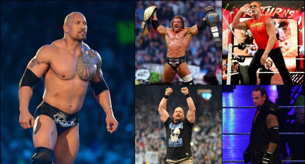 WWE: el antes y después de las estrellas de la lucha libre - 1