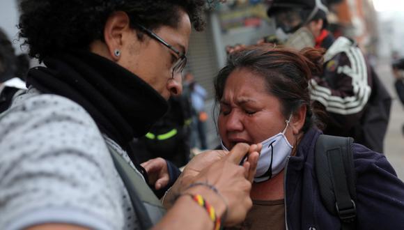 Imagen captada durante las recientes protestas en Colombia. (Foto: Reuters)