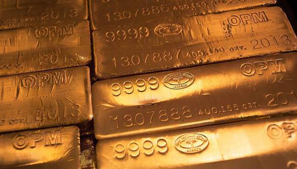 Los precios del oro se perfilaban a registrar sus mayores ganancias semanales en más de dos meses. (Foto: Reuters)
