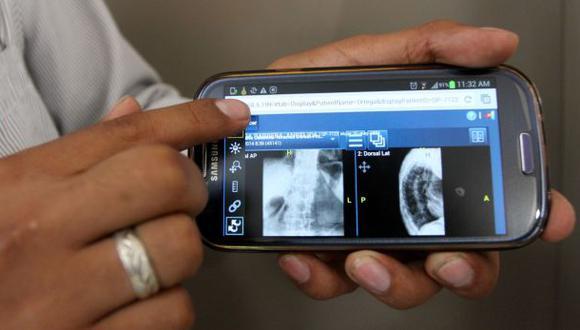 Rayos X también podrán verse desde smartphone o tablet