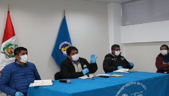 Pasco. Autoridades decidieron cerrar ingresos a Pasco en prevención al coronavirus.