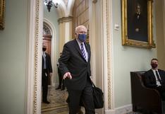 """Senador que debe presidir el juicio a Trump fue hospitalizado """"por precaución"""""""