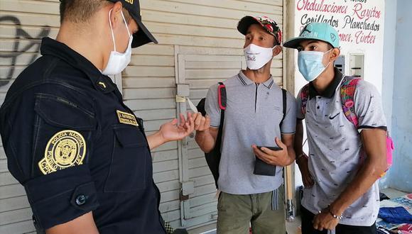 Más de 25 extranjeros fueron intervenidos al no contaban con documentación en regla. (Foto: Municipalidad Provincial Talara)