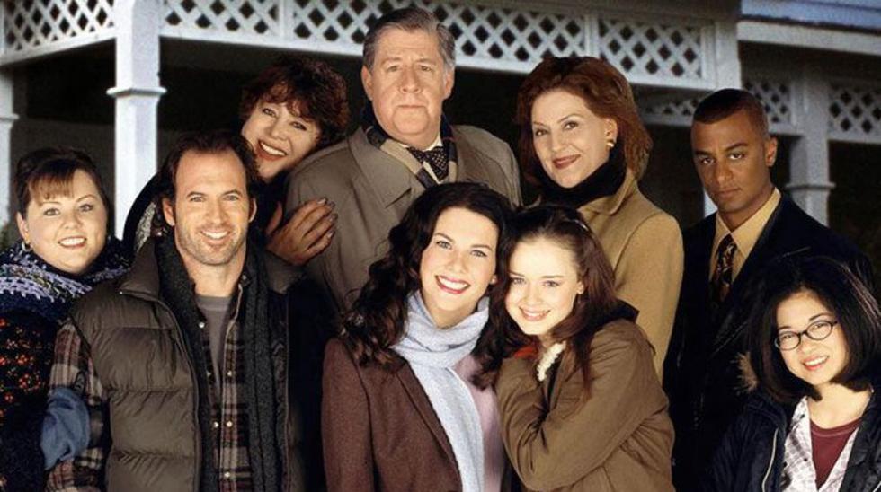 """Elenco de """"Gilmore Girls"""". Esta serie cumple este 5 de octubre 20 años.  (Foto: WB Television Network)."""