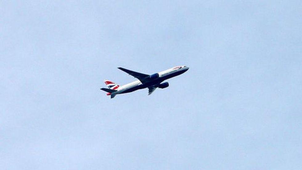 El avión alcanzó velocidades de 1.327 km/h. (Getty Images).
