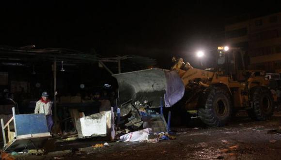 Chiclayo: desalojaron a 4 mil informales del mercado modelo