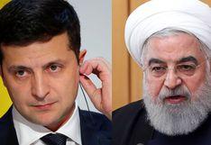 Presidente de Irán promete a su homólogo ucraniano castigo para los culpables del derribo de avión