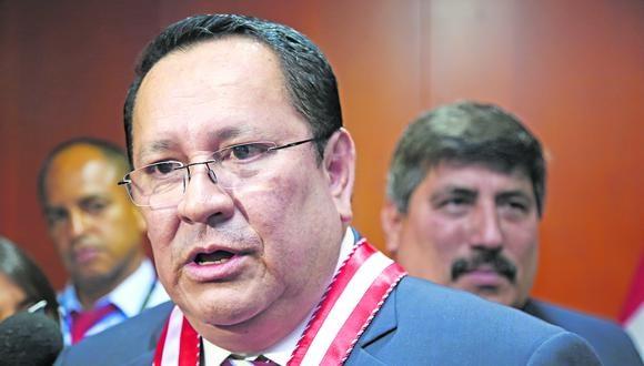 Luis Arce integra el pleno del JNE como representante del Ministerio Público. (Foto: Karina Mendoza)
