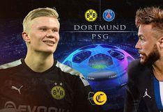 PSG vs. Borussia Dortmund, por Champions League: ¿a qué hora y qué canal de TV se transmite el partido?