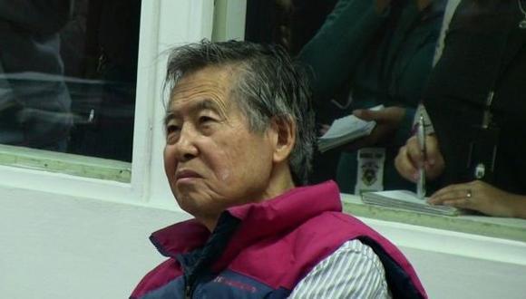 INPE espera aviso del PJ para reinstalar teléfono a Fujimori
