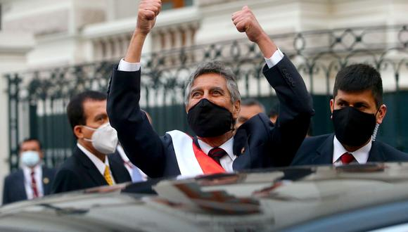 Francisco Sagasti asume el gobierno de transición tras la renuncia de Manuel Merino (Foto: Presidencia).