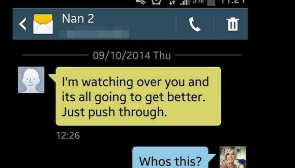 ¿Qué pasaría si un día recibes un SMS de tu abuela fallecida?