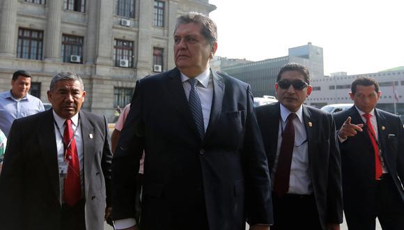 Alan García fue citado para que declare por el caso el 7 de enero del 2019. El ex ministro Enrique Cornejo, el 11 del mismo mes. (Foto: Reuters)