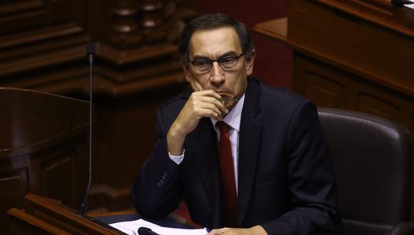 Cuando surgió el escándalo de Chinchero y luego que renunciara al MTC, Fuerza Popular también pidió que Martín Vizcarra renuncie a la vicepresidencia. (Archivo El Comercio)