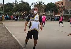 Coronavirus en Perú: exfutbolistas participaron en torneo de fulbito en El Agustino a pesar de que esta prohibido