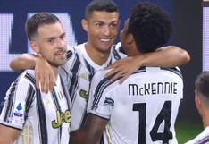 Juventus vs. Sampdoria: Cristiano Ronaldo y el 'misil' para el 3-0 de los de Turín por la Serie A | VIDEO