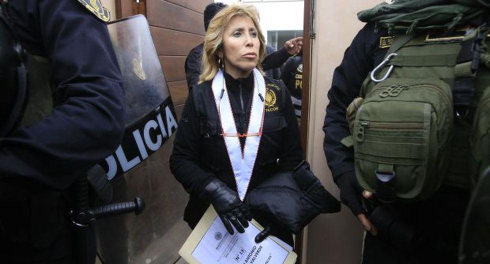 La fiscal Sandra Castro, del Caso Los Cuellos Blancos, negó que la prisión preventiva se use en forma abusiva. (Foto: GEC)