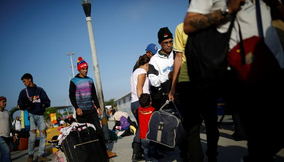La mayoría de migrantes venezolanos ingresan a Perú por el Centro Binacional de Atención Fronteriza de Tumbes. (Foto: Reuters)