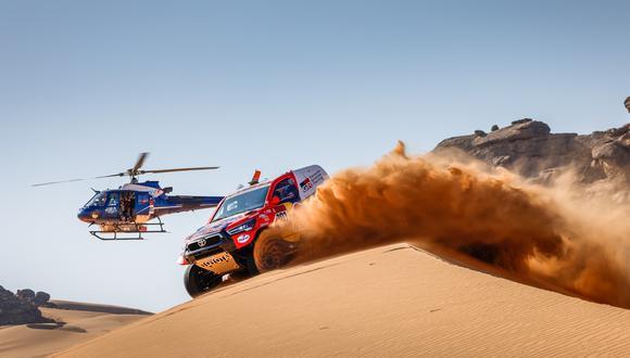 Nasser Al Attiyah se impuso en la segunda etapa del Dakar 2021 en categoría coches | Foto: @dakar