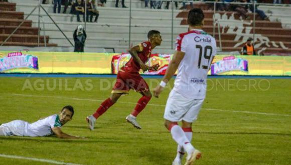 Rionegro Águilas venció 1-0 a Once Caldas en la ida de los cuartos de final de la Liga Águila | Foto: Rionegro