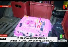 Callao: intervienen a 20 personas que participaban en una fiesta