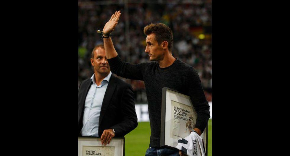 Alemania homenajeó a los campeones del mundo en Düsseldorf - 3