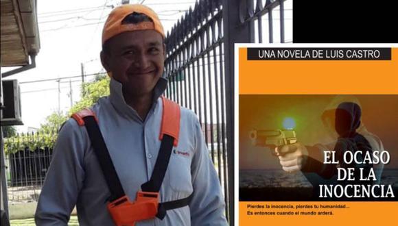 Luis Castro, el escritor autodidacta de 35 años que vive en Paraguay. (Foto: Facebook)