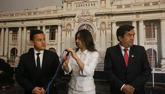 """""""Ella debe saber por qué ha dicho ello"""", dijo Richard Acuña sobre Marisol Espinoza. (Foto: Archivo El Comercio)"""