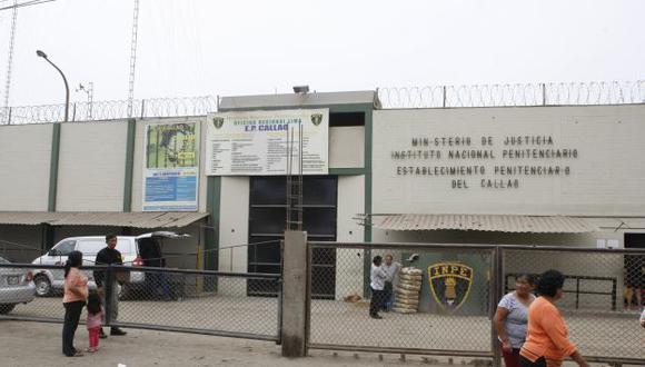 Cinco internos y tres trabajadores del penal del Callao dieron positivo a coronavirus. Las visitas están suspendidas allí y en los 68 centros penitenciarios del país. (Foto: GEC)