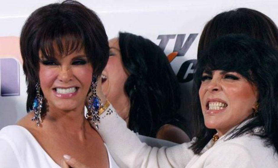 Verónica Castro y Lucía Méndez son parte del medio desde los años 70 y desde aquellos año, la revalidad entre ambas es constante (Foto: Televisa)