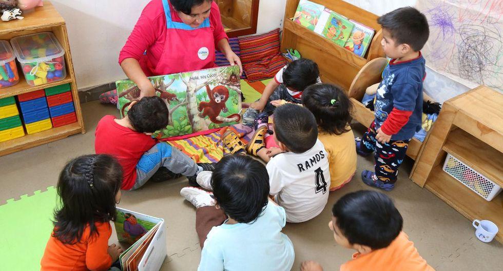 Con relación al Servicio de Acompañamiento a Familias, el programa brindó acompañamiento a 110 mil familias, compuestas por más de 104.700 niños y más de 7.300 gestantes. (Foto: Midis)