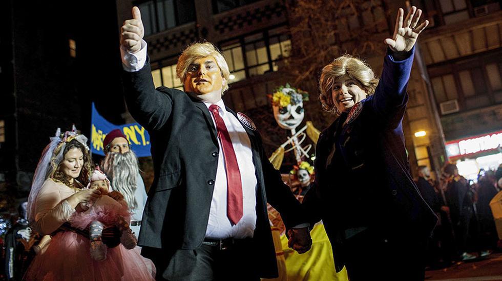 Clinton y Trump: Los disfraces preferidos en este Halloween - 1