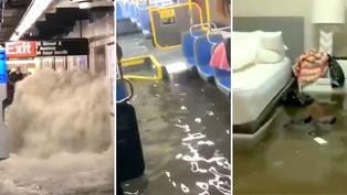 New York: Mira las impactantes escenas provocadas por la tormenta Ida