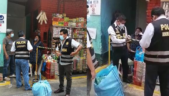 Sospechan que los cigarrillos ingresaron ilegalmente por la frontera con Bolivia y que la mercadería sería de origen paraguayo (Foto: PNP)