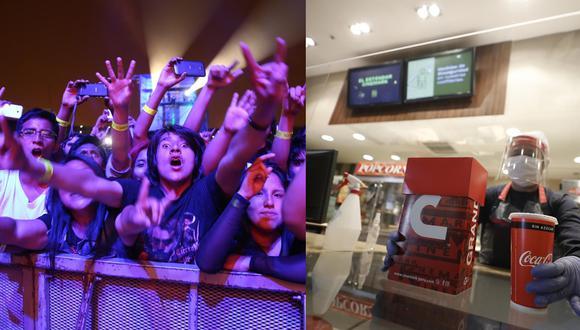 Han pasado casi diez meses desde que el COVID-19 obligó a que las puertas de los cines y las luces de los escenarios se apagaran. A pocos días de dejar atrás un 2020 más que desafiante, vale la pena hacer un repaso de lo que sucedió con estas dos grandes industrias que forman parte del golpeado sector de entretenimiento.