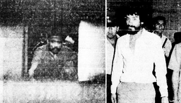 """""""Pilatos"""" (I) y """"Lalo"""" (D) junto a otros tres delincuentes secuestraron a dos custodios del orden en un intento de fuga. Foto: Archivo Histórico El Comercio"""