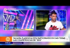 """Yaco Eskenazi dice estar contento con Yahaira Plasencia en """"Esto es guerra"""""""