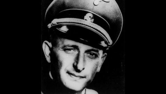 Una foto sin fecha de la Segunda Guerra Mundial que muestra a Adolf Eichmann con su uniforme de oficial nazi de las SS. (Foto AP).