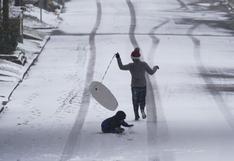 Muere niño de 11 años en Texas tras tormentas invernales en Estados Unidos