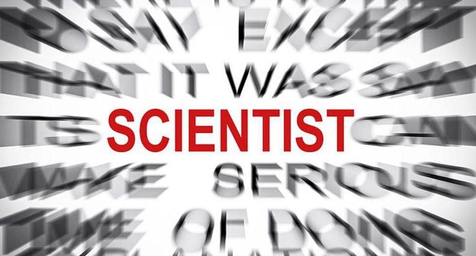 Esa polémica palabra: Scientist. (Foto: Gety)