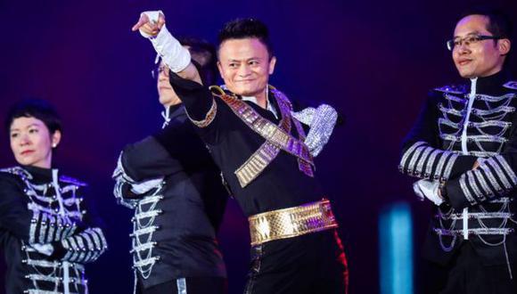 El dueño del gigante del comercio electrónico Alibaba, una de las firmas tecnológicas globales más importantes del mundo, suele hacer excentricidades en las fiestas corporativas. (Foto: Getty Images)