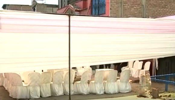 Dos hijas de la víctima presenciaron el asesinato. (Foto: Captura/América Noticias)