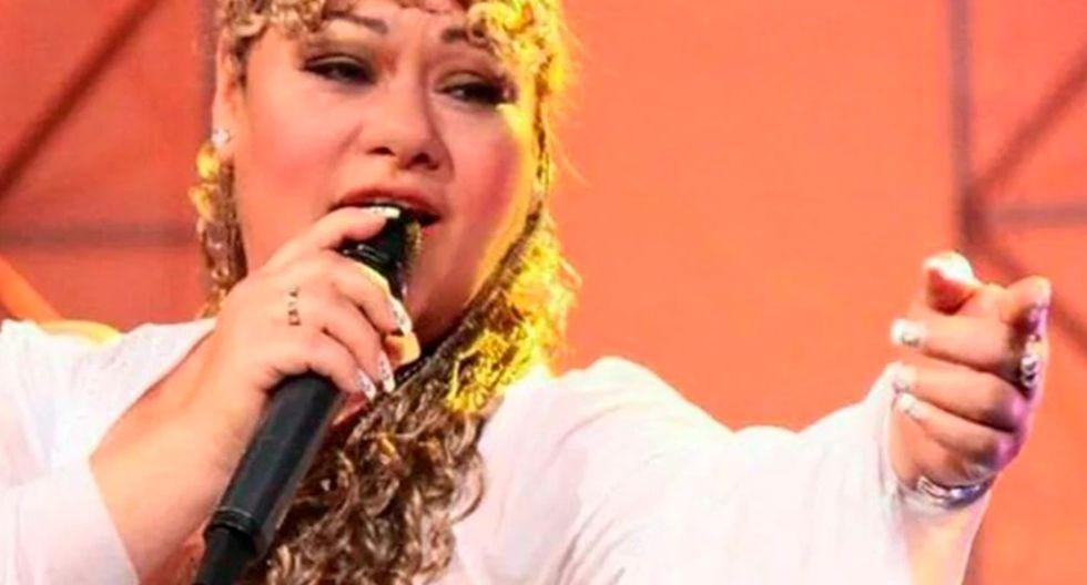 """Michelle Portocarrero participó en """"Yo Soy"""" como imitadora de Lucía de la Cruz. Foto: Difusión."""