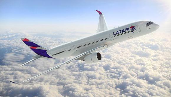 Latam, unión de Lan y Tam, presenta nuevo diseño de sus aviones - 1