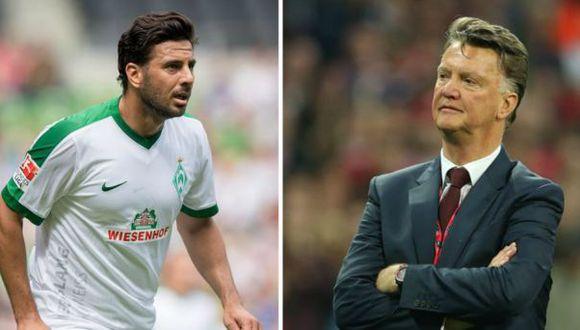 Claudio Pizarro: Louis Van Gaal podría dirigir al Werder Bremen